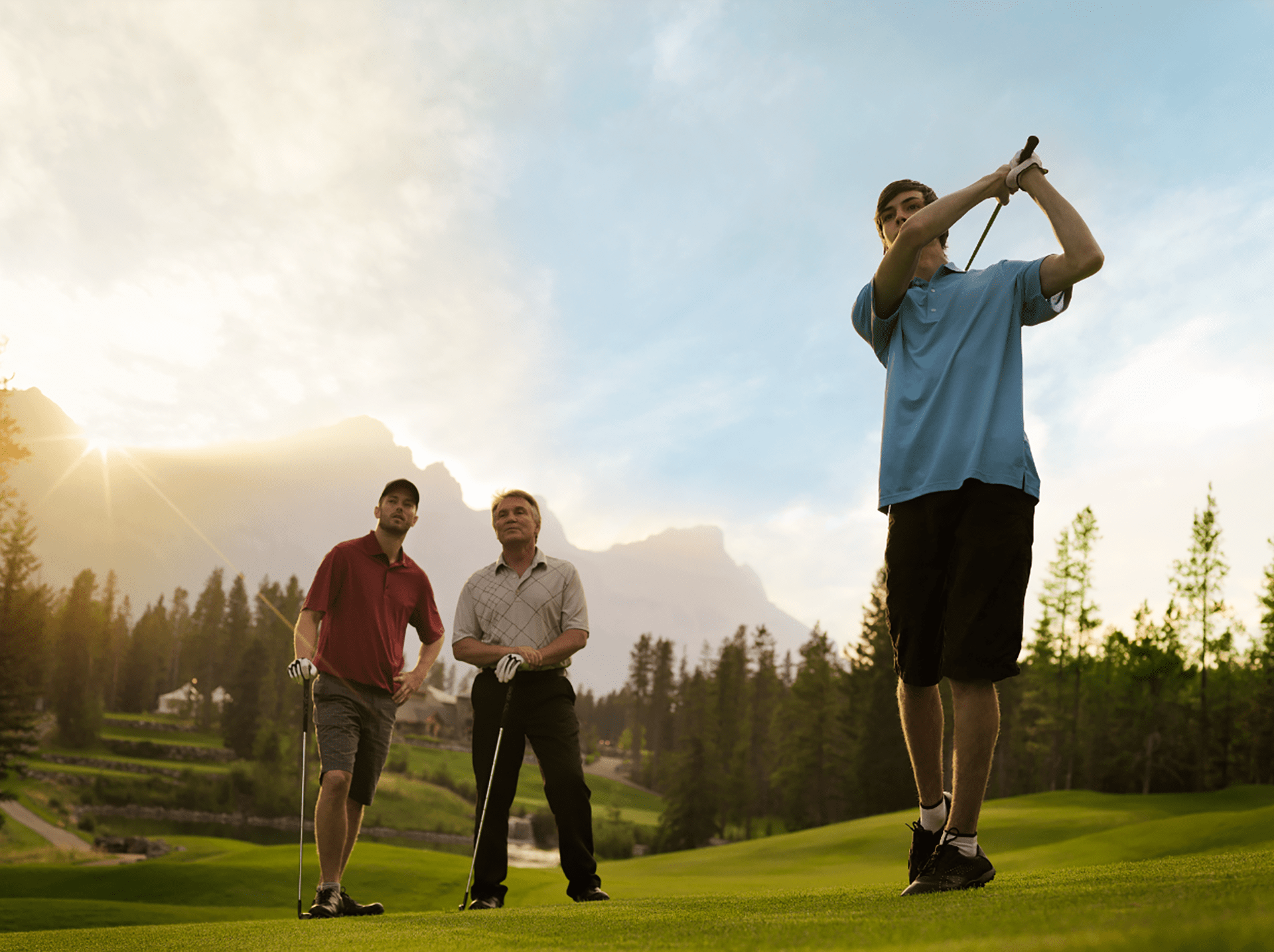Golf - Travel Alberta, Roth & Ramberg