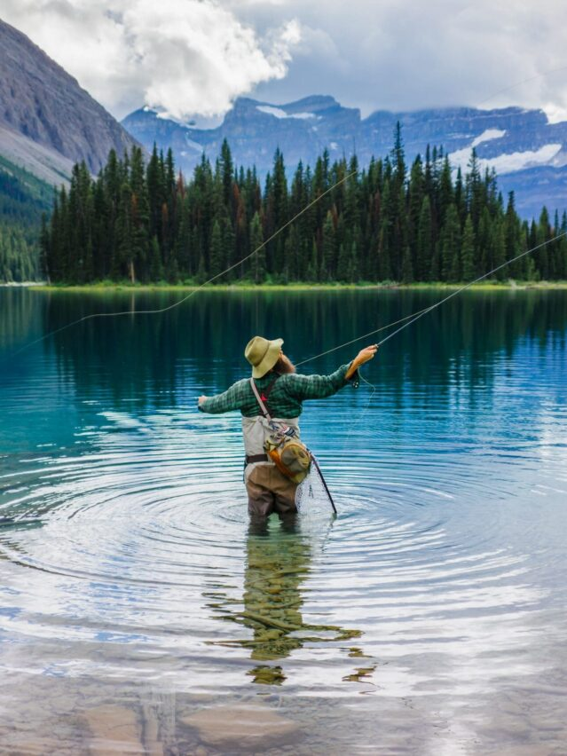 Pêche: marvel lake, banff - Andy Best